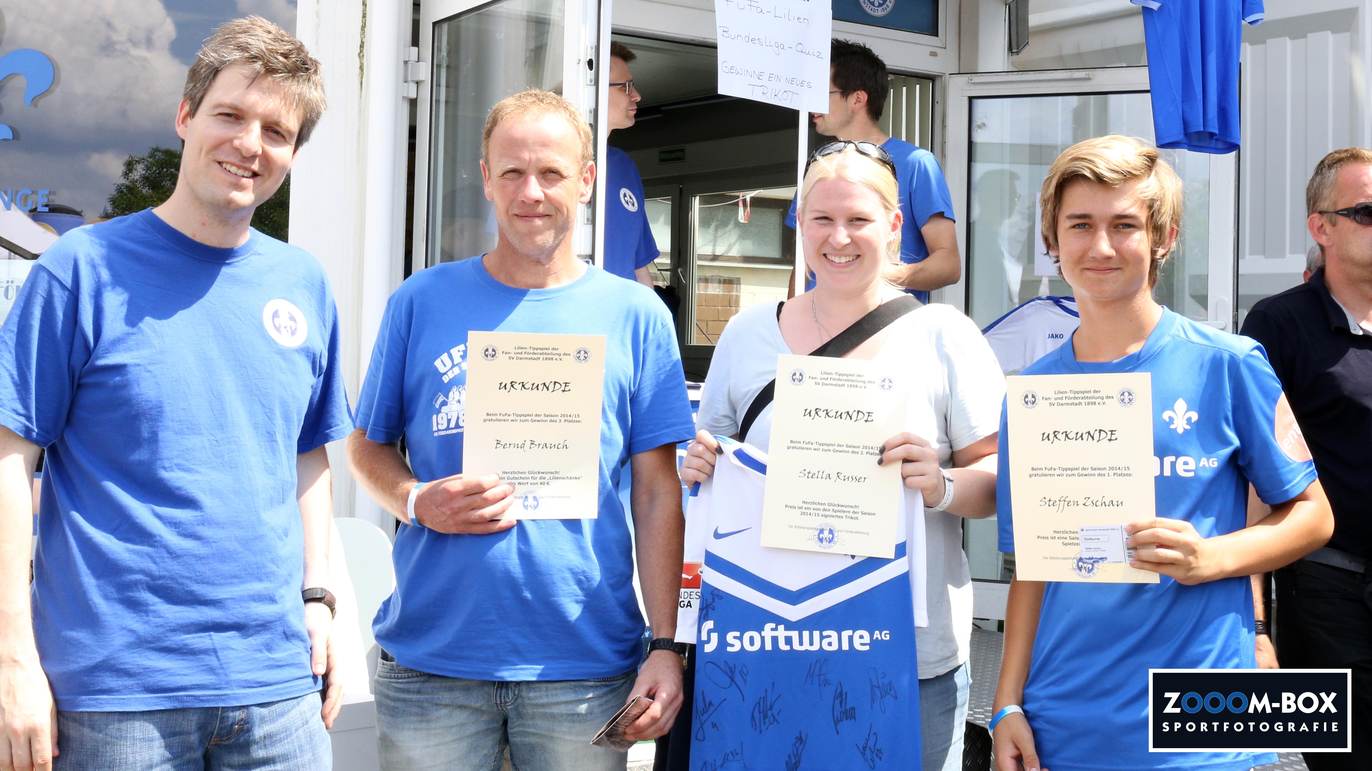 FuFa-Tippspiel: Preise übergeben   FuFa SV Darmstadt 98