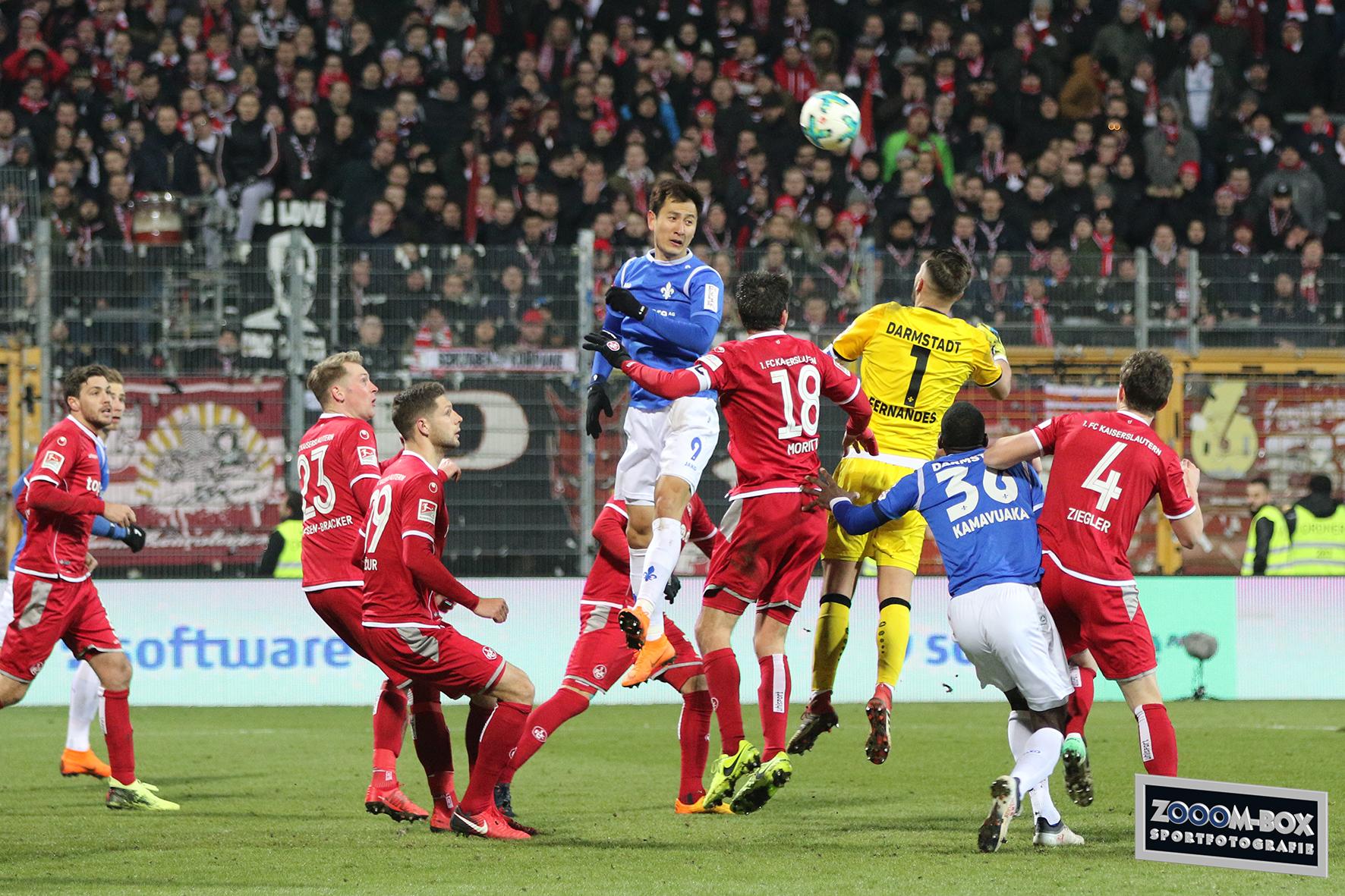 Spielbericht Sv Darmstadt 98 1 Fc Kaiserslautern We Fight