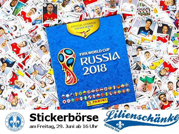 Stickerbörse in der Lilienschänke – Fr, 29.6. ab 16 h   FuFa SV ...
